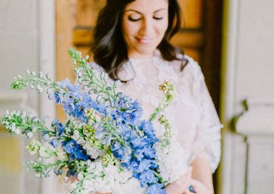 Intimate wedding in a Tuscan villa