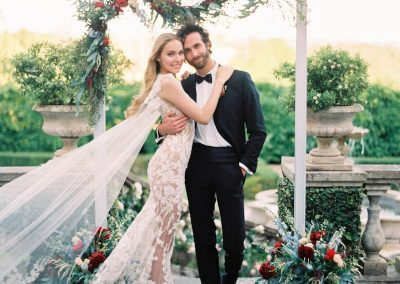 A Tuscan trendy wedding at Villa Il Borro