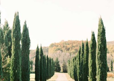 Rural romantic wedding in Chianti
