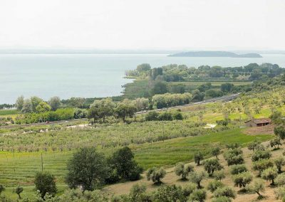 Romantic wedding castle in Umbria