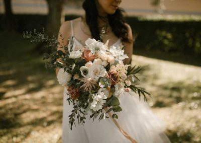 Romantic organic wedding in Pienza