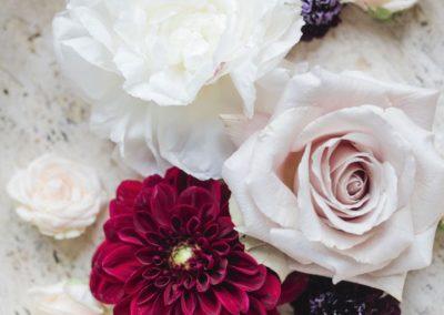 Italian garden style wedding