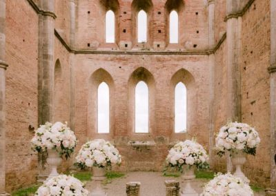 Breath-taking wedding in Tuscany
