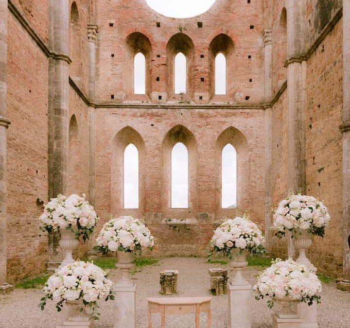 Breath-taking wedding in Tuscany