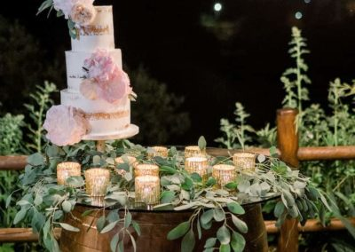 Boho romantic wedding in Tuscany